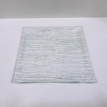 Assiette carree transparente 25x25cm ls reception ile d oleron la rochelle niort saintes royan ile de re charente maritime 2
