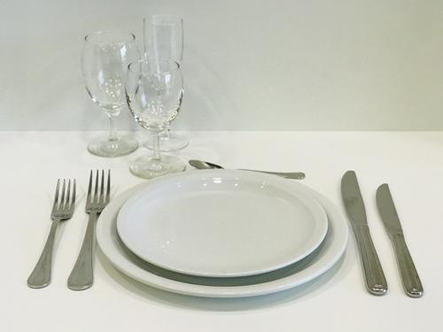 Assiettes gamme aska ls reception ile d oleron la rochelle niort saintes royan ile de re charente maritime 2 1