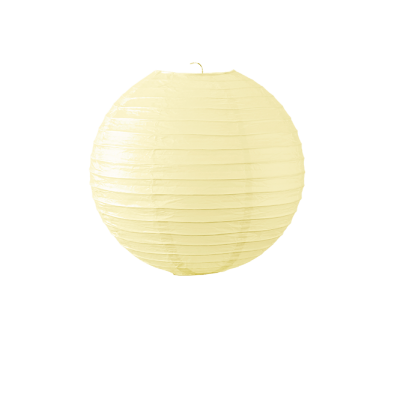 Boule papier 30cm ivoire nouvelle collection