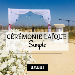 Ceremonie laique classique simple
