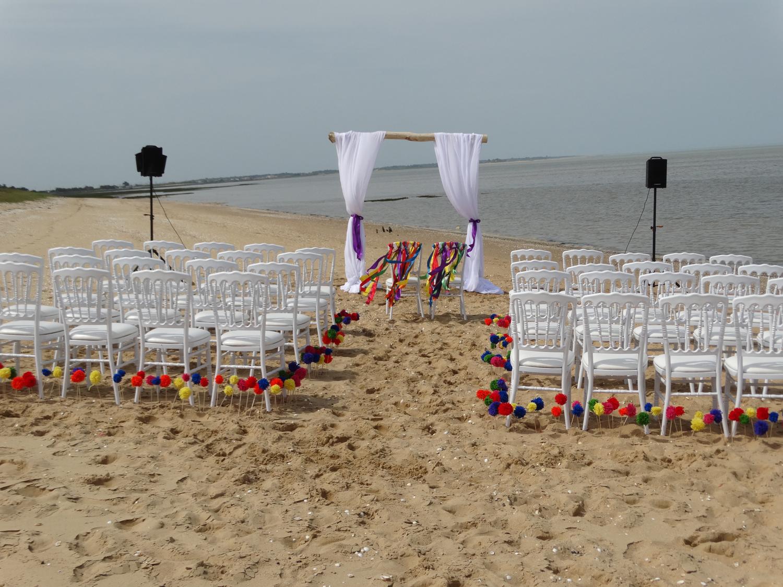 Cérémonie du sable acidulée plage de l'île d'Oléron 5