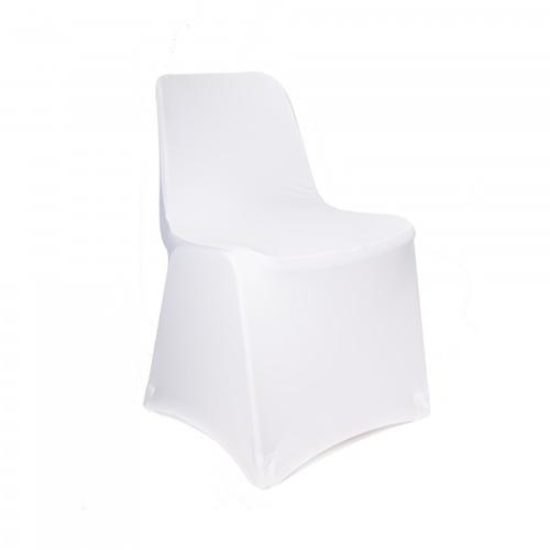 Housse de chaise pour chaise type coque blanche 500x500