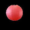 Lampion boule papier 30cm rouge