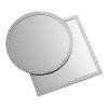 Miroir rond strass 30cm