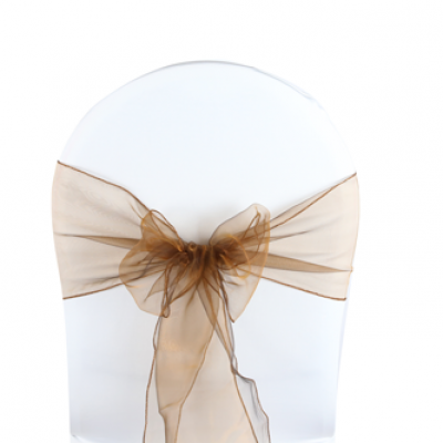 Noeuds de chaise organza chocolat 500x333