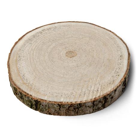 Rondin de bois 20x2 5cm 1