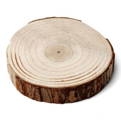 Rondin de bois 25x25cm 1