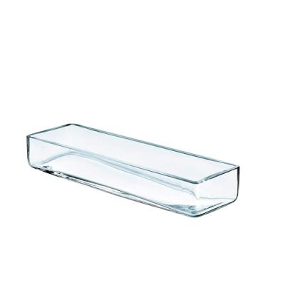 Vase rectangulaire 40x12cm hauteur 6cm 500x500